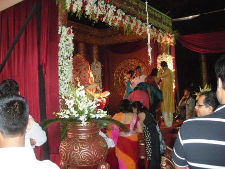 Waterfall Decorations For Ganpati