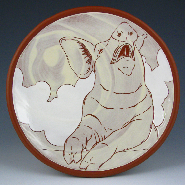 Kip O'Krongly Ceramic Art