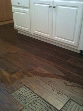 "Ceramictec - Tampa Porcelain Plank ""Wood Look"" Tile Installation"