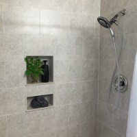 South Tampa, Florida tile shower installation