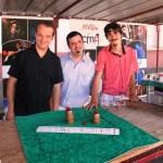Pierre, Bruno et Quentin (de gauche à droite)
