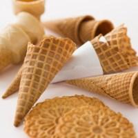 Barquillos, cucurucho o conos para el helado