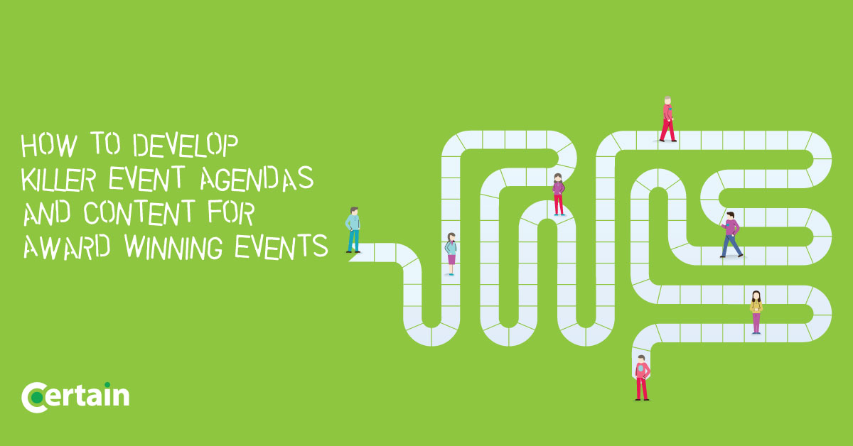 How to Develop Killer Event Agendas and Content for Award Winning
