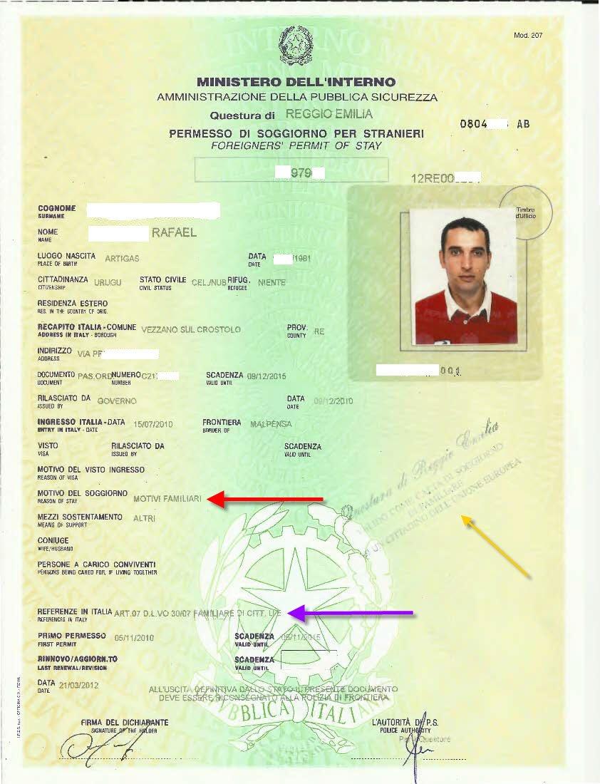 Danitas Guide To Acquiring The Carta Di Soggiorno Residence Card