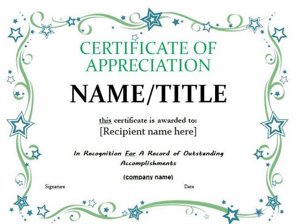 Gallery of free pastor appreciation certificate template designtube