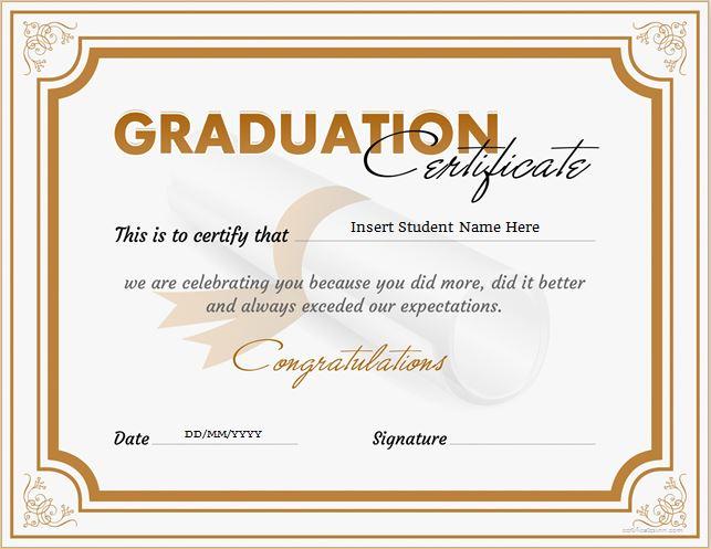 graduation certificate - Onwebioinnovate - graduation certificate