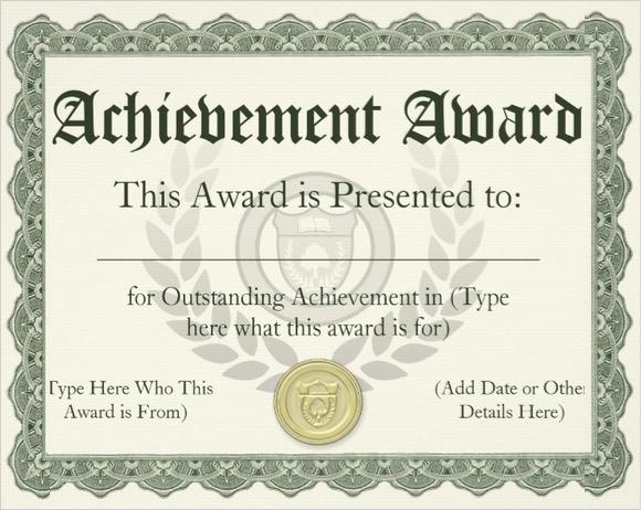 paper for certificates awards - Romeolandinez
