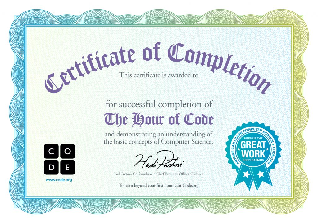 Completion Template Word Free Certificate Templates - free certificate of completion template