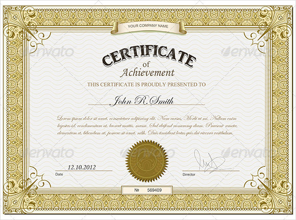 free awards certificate templates