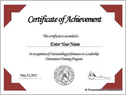 Certificate idea Templates Certificate Templates - sample certificate templates
