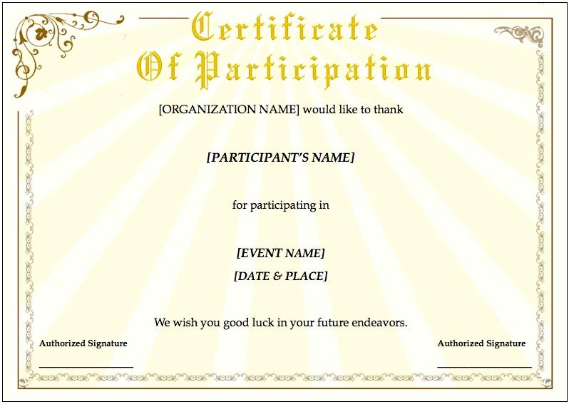 free customizable certificates - Jolivibramusic - free template for certificate
