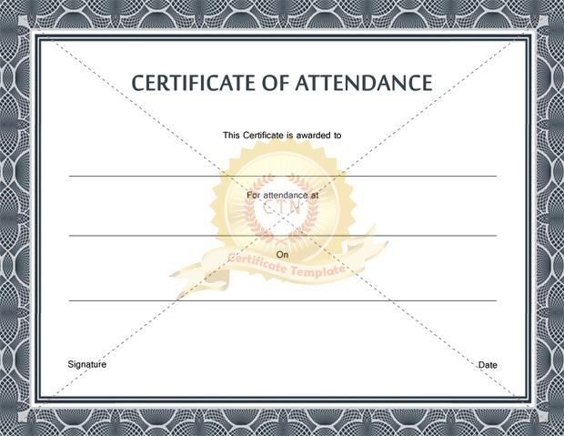 New Certificate free template Certificate Templates - certificate of participation free template