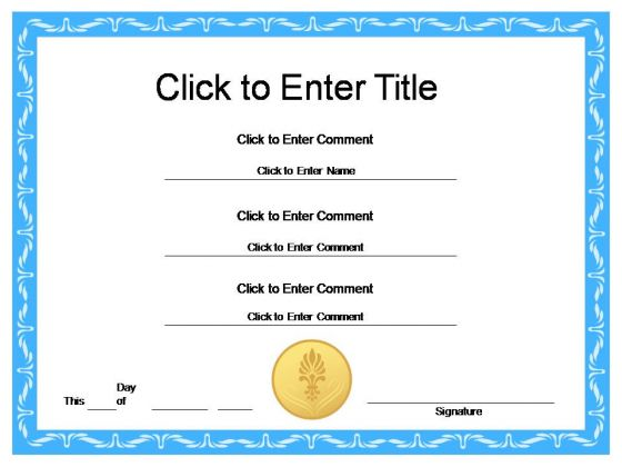 New Award Certificates templates Certificate Templates - free award certificates