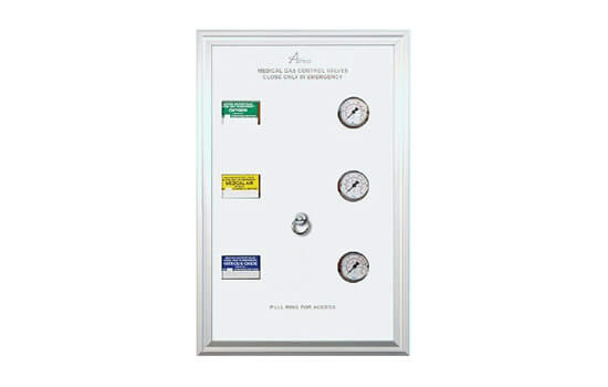 zone box for electro zone valves