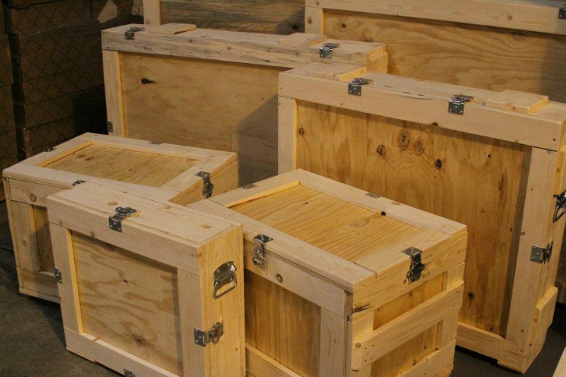 Wood Art Custom Art Crates - Certified