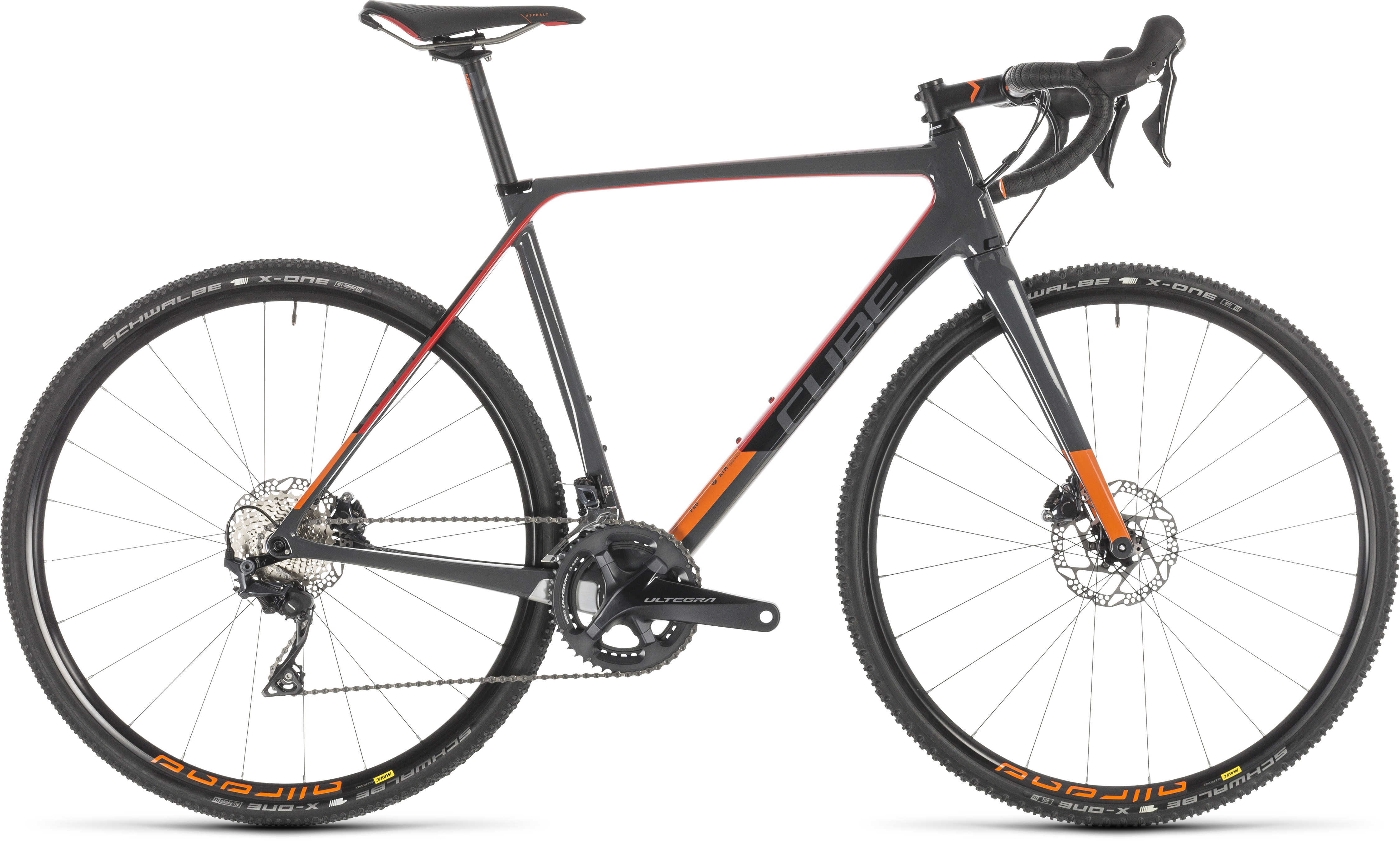 Cube 40 Anthrazit Metallic All-in-one Set Cyclocross Bikes
