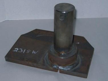 2318W Upper Lift Cyl Mtg Plate LH