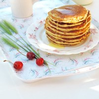 Pancakes à la farine complète