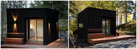maison en bois moderne et design. Black Bedroom Furniture Sets. Home Design Ideas