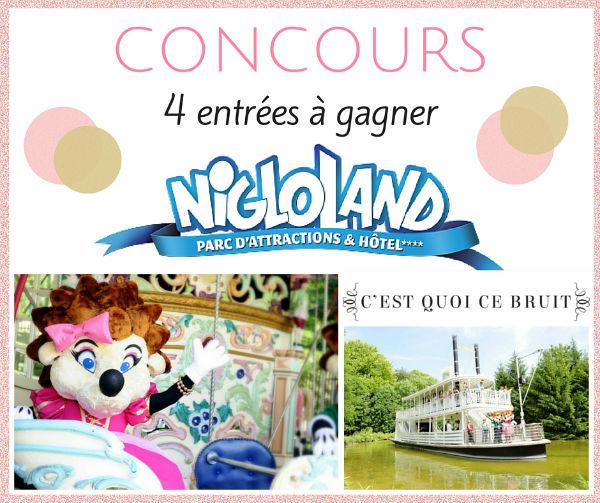 Viens en famille au parc Nigloland !