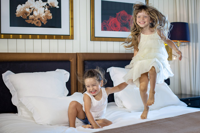 Un WE en famille à l'Hôtel Barrière Majestic Cannes