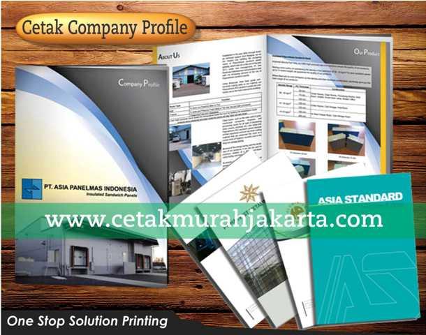 Cetak Company Profile   Percetakan Compro