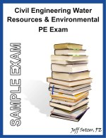 Civil Engineering Water Resources PE Sample Exam