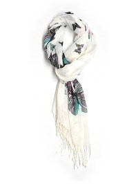 Taleen 100% Polyester Print Scarf One Size - 61% off | thredUP