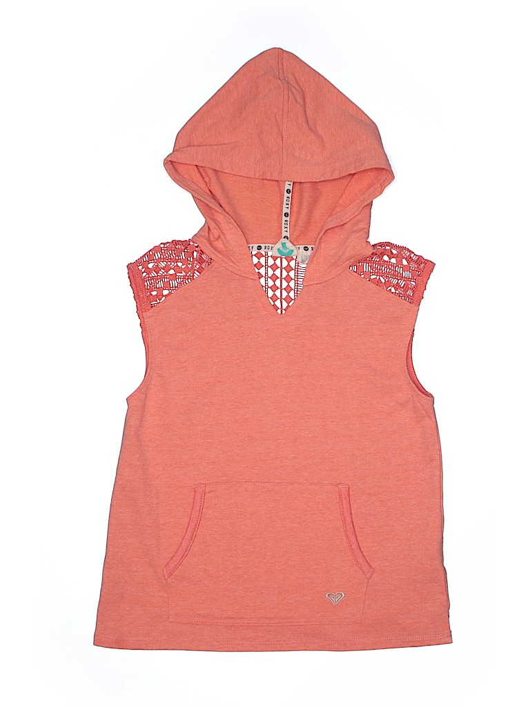 Pullover Hoodie Vest Check It Out Roxy Pullover Hoodie For 14 99 On Thredup