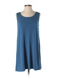 J.jill Solid Dark Blue Casual Dress Size XS (Petite) - 74% ...