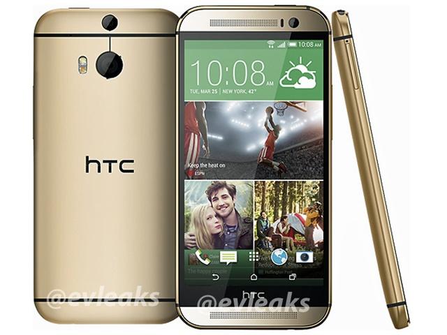 官圖到齊!HTC M8銀、黑、金三色全都露