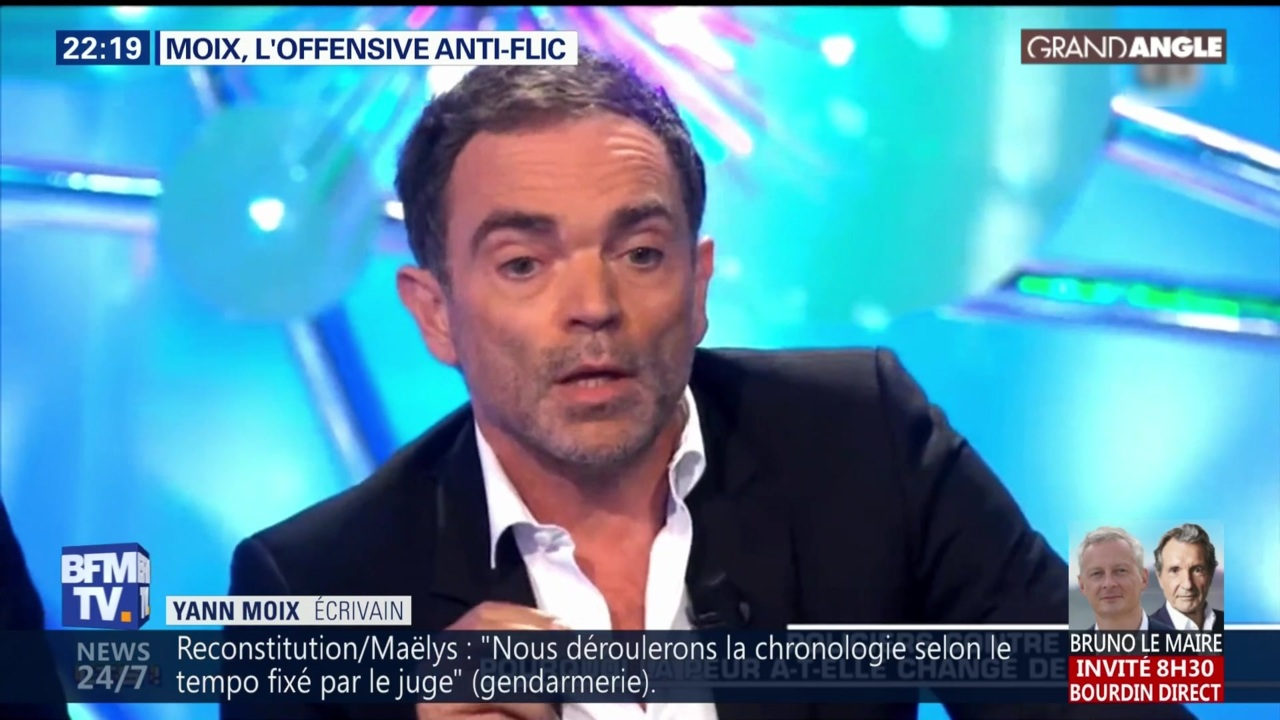 Arte Replay Yann Moix Replay Grand Angle Du 24 09 2018 Moix L Offensive Anti Flic
