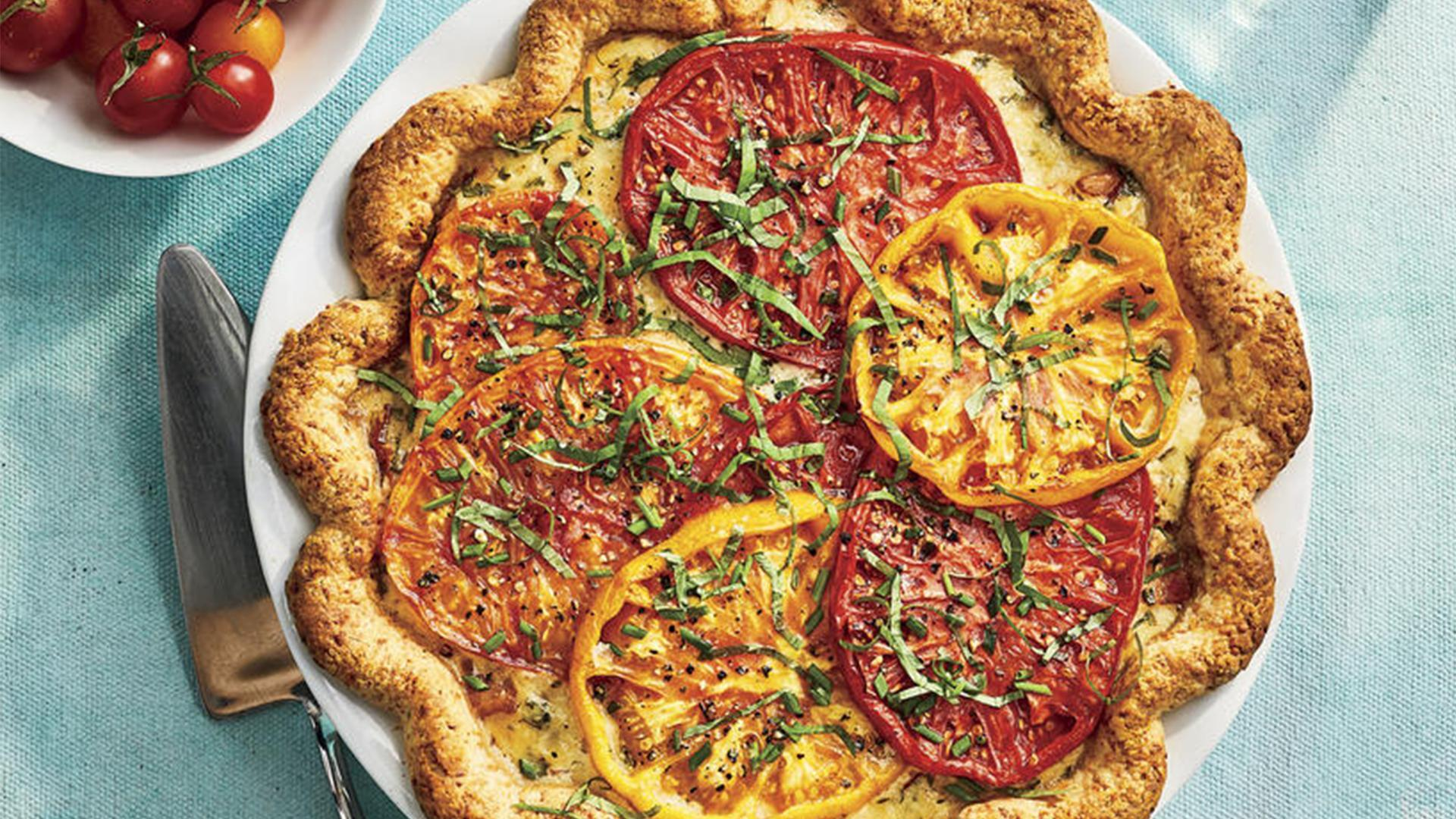 Heirloom Tomato Pie Recipe Southern Living