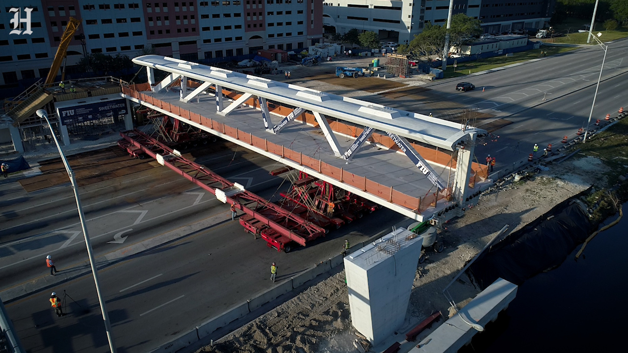Assurance Garage Location Fiu Bridge That Collapsed Had Key Design Mistake Experts Say