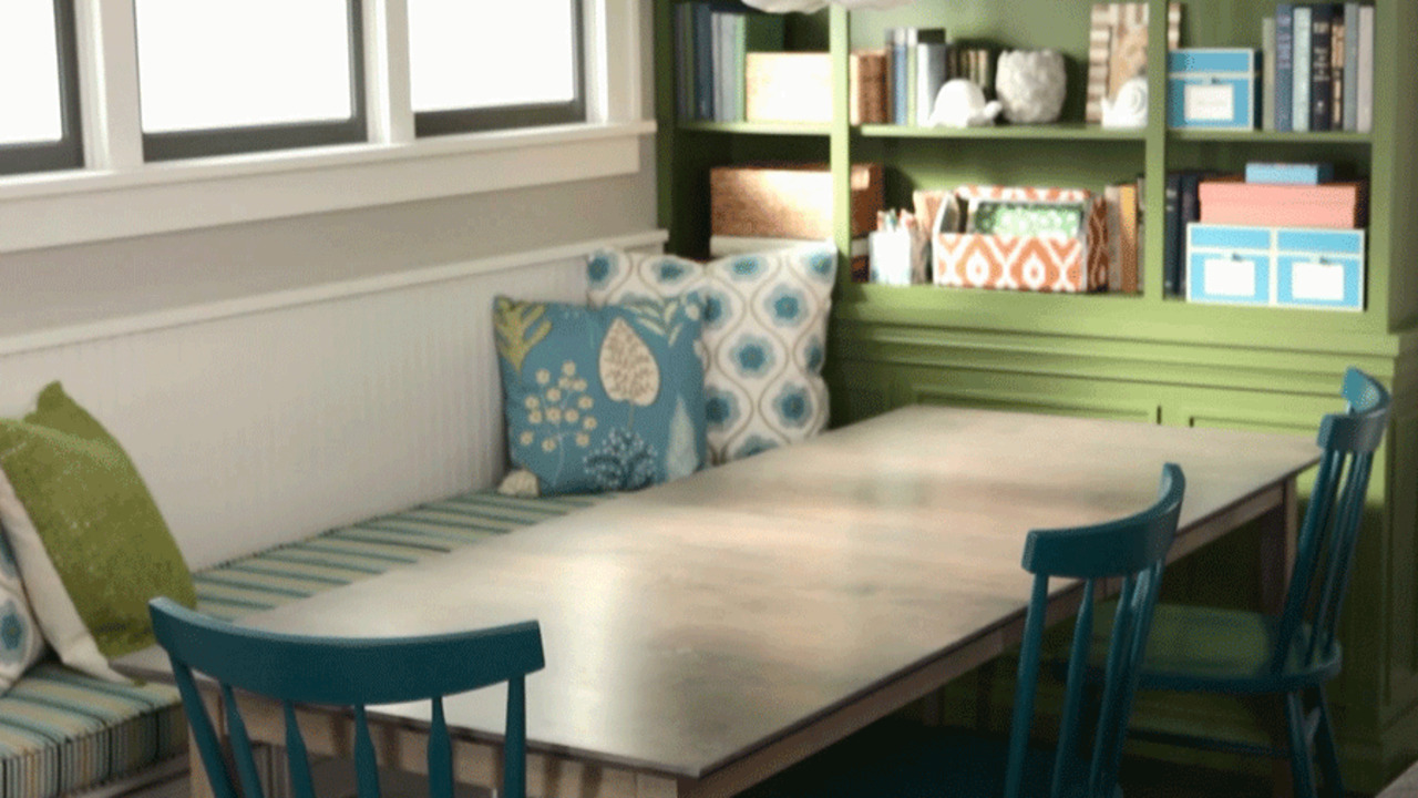 Petite Banquette Design Get The Ultimate Breakfast Nook