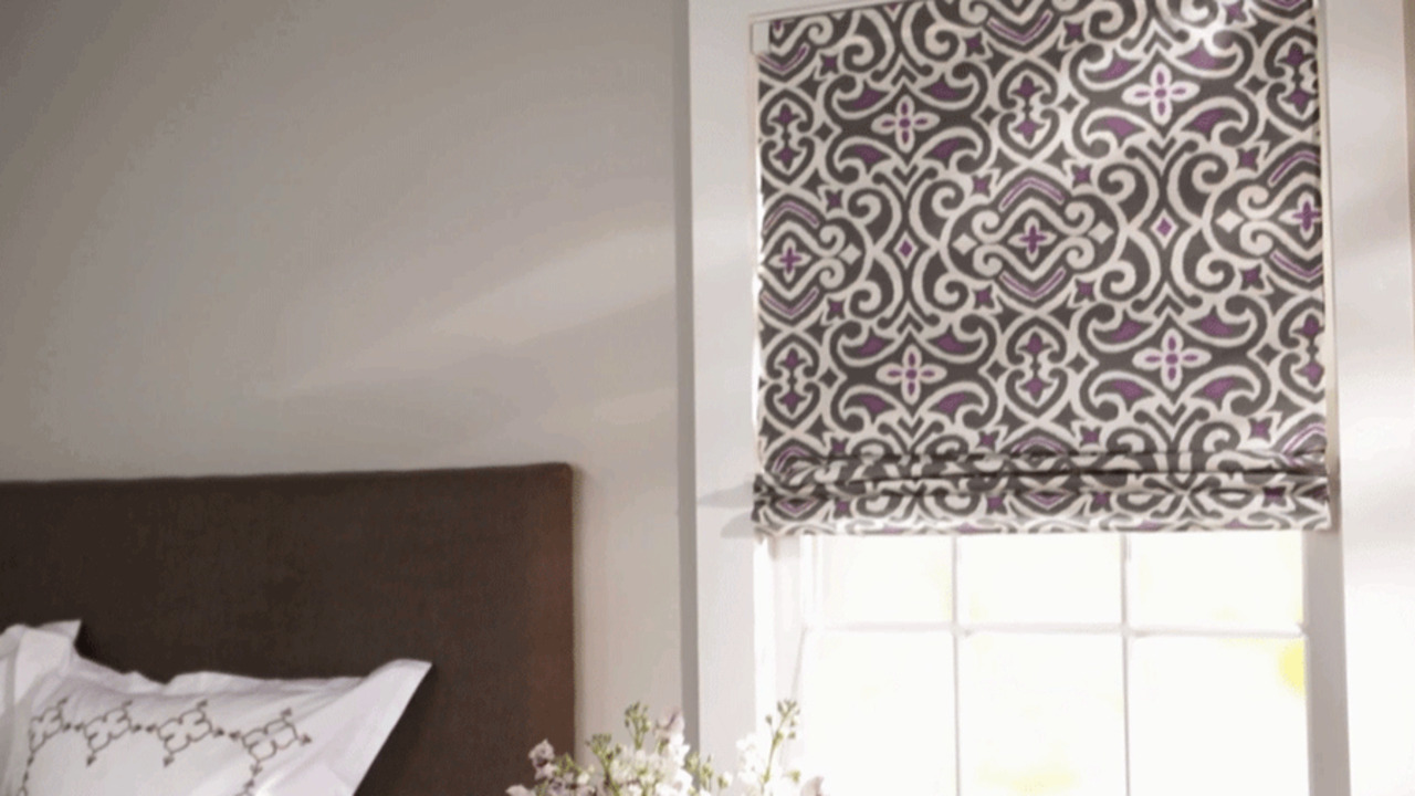 Diy Roman Shades Easy How To Make Roman Shades Better Homes Gardens