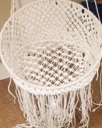 DIY Hanging Macram Chair