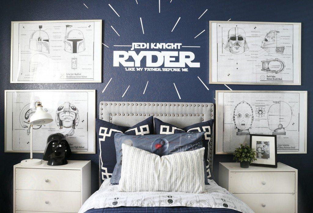 Star Wars Kids Bedroom - Classy Clutter - star wars bedroom ideas