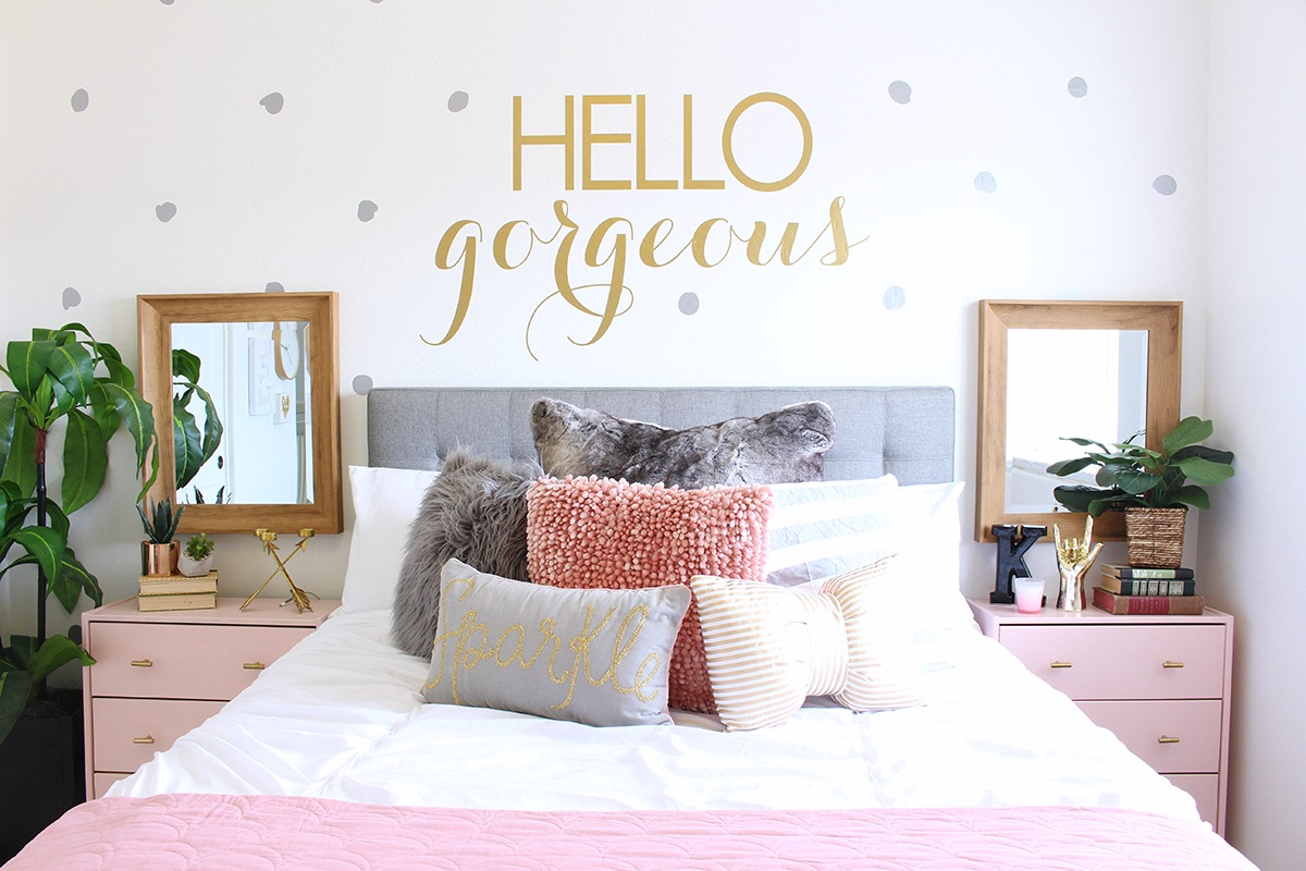Young Girls Room Surprise Teen Girl 39s Bedroom Makeover Classy Clutter