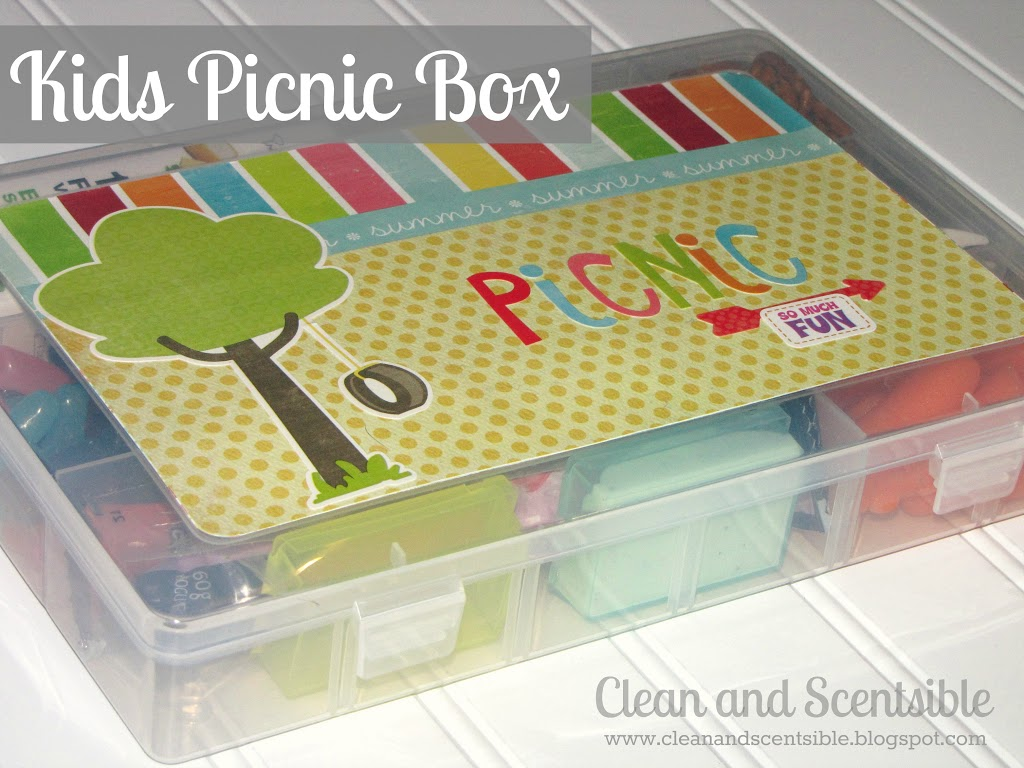 Fun And Easy Picnic Lunch Clean And Scentsible