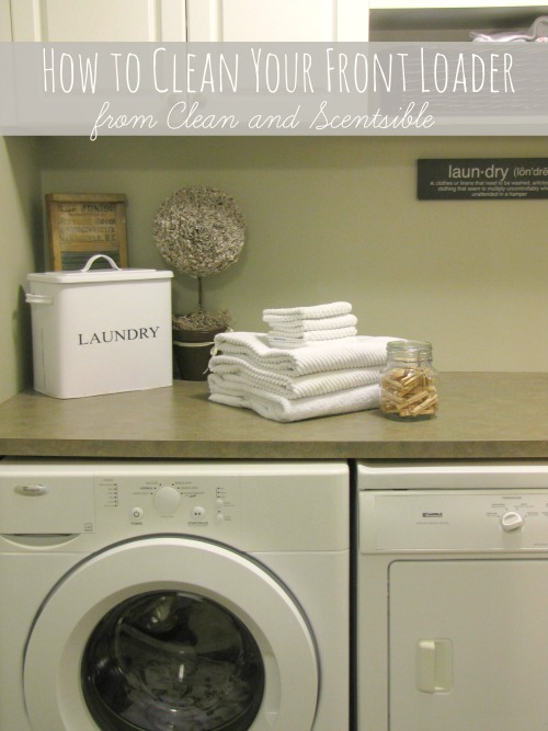 How To Clean Your Washing Machine - Clean And Scentsible