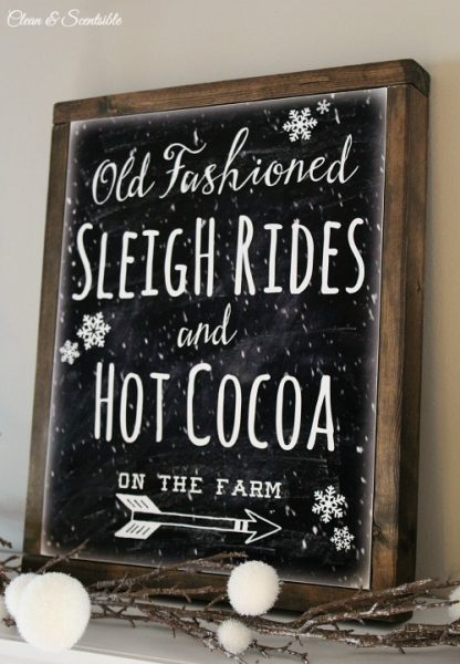 Wallpaper Fall Farmhouse Free Sleigh Ride Printable And Diy Canvas Sign Clean And