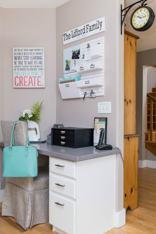How To Organize The Home Office - Hod March Printables - Clean And