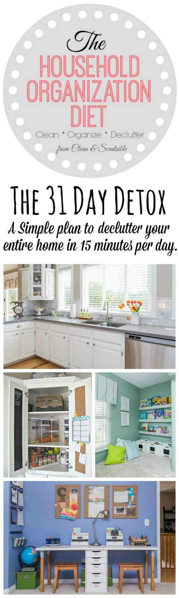 ready organized year household organization simple kitchen organization ready tackle clutter