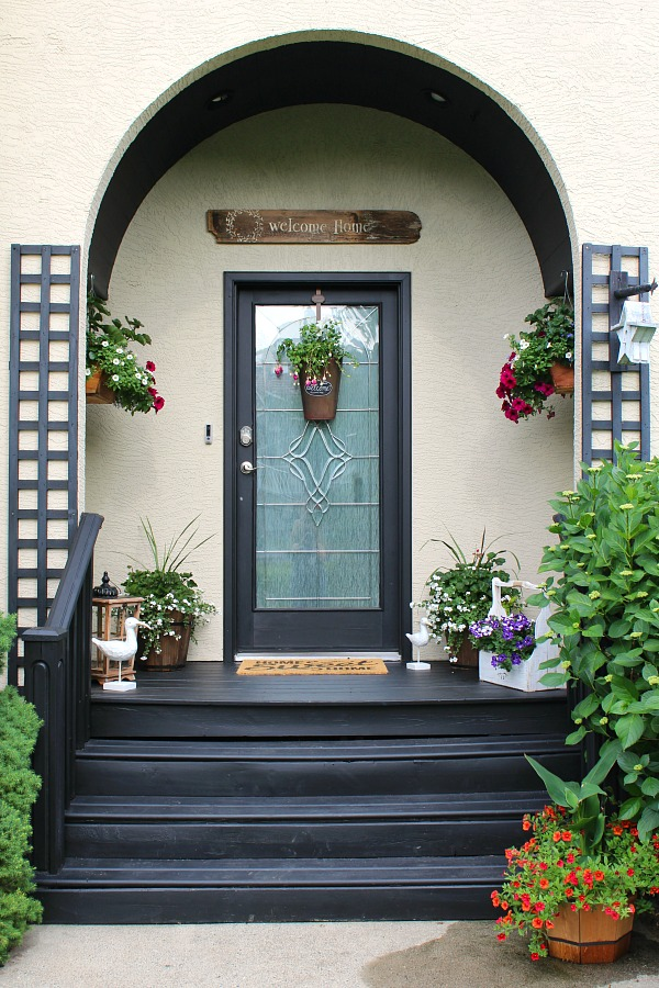 How To Decorate Your Front Porch Summer Front Porch Decorating Ideas - Clean And Scentsible
