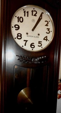 Oversized Vintage 'Nippon' Wall Clock | Collectors Weekly
