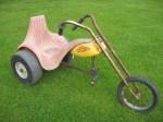 Vintage Y Hot Seat Trike Chopper Wheelers