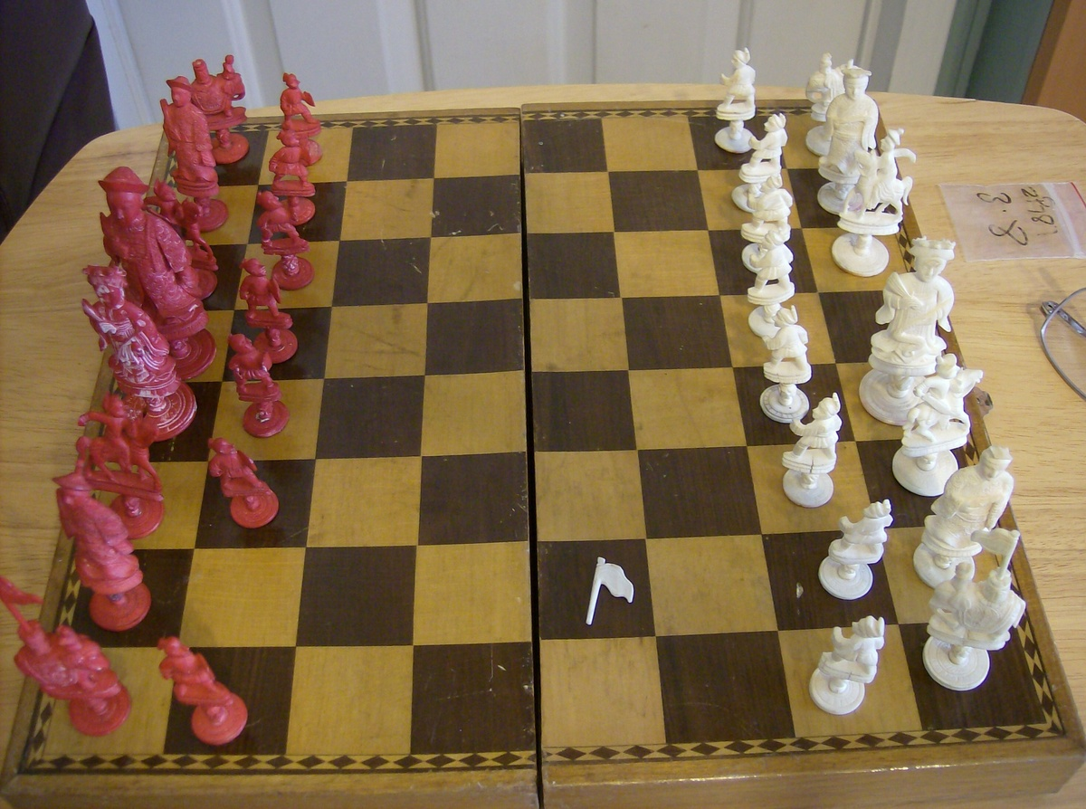 Collectors Chess Sets Ivory Chess Set Collectors Weekly