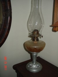 Antique Oil Lamp   Collectors Weekly