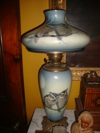 Pittsburgh Lamp and Brass co. Great Horned Owl Lamp ...